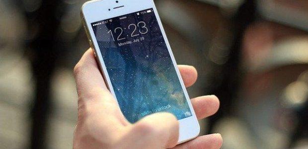 Bild på mobil och digitala lösningar